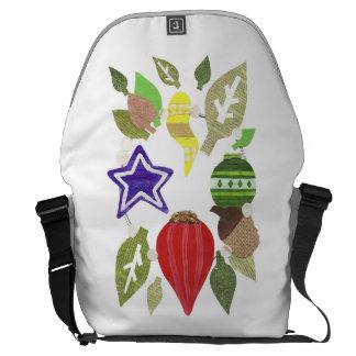 Bauble Wreath Rusksack Messenger Bag