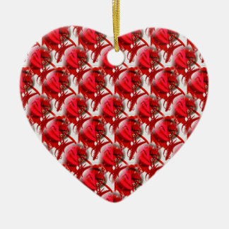 Baubles By Livvy Heart Shaped Hanging Ornament