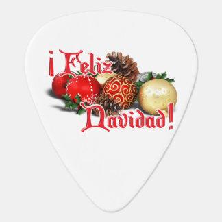 Baubles & Pine Cones - Feliz Navidad Guitar Pick
