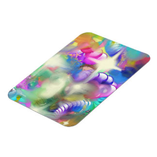 Baubles Sparkles and Beads Rectangular Photo Magnet