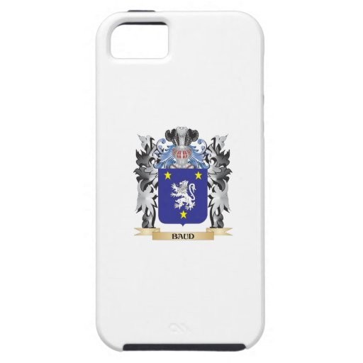 Baud Coat of Arms - Family Crest iPhone 5 Case