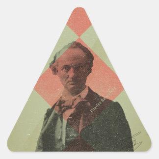Baudelaire Triangle Sticker