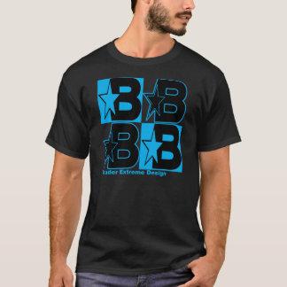 Bauder Extreme Design Blue Logo T-Shirt