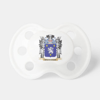 Bauduccio Coat of Arms - Family Crest BooginHead Pacifier