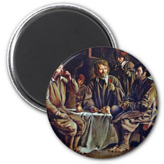 Bauer Meal By Le Nain Louis (Best Quality) Magnet