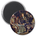 Bauer Meal By Le Nain Louis (Best Quality) Magnets