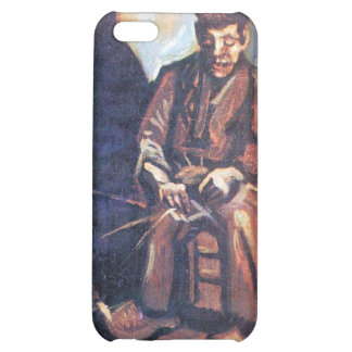 Bauer, sitting in and making basket by van Gogh iPhone 5C Cover