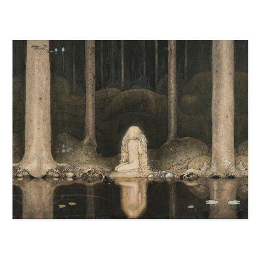 Bauer Tuvstarr CC0415 Fairy Tale Postcard