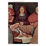 Bauer Wedding Details By Bruegel A. Pieter Card