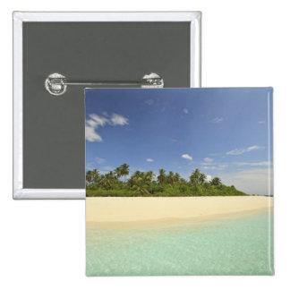 Baughagello Island, South Huvadhoo Atoll, 2 Pinback Button