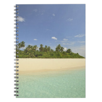 Baughagello Island, South Huvadhoo Atoll, 2 Spiral Notebook