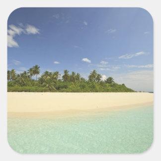 Baughagello Island, South Huvadhoo Atoll, 2 Square Sticker