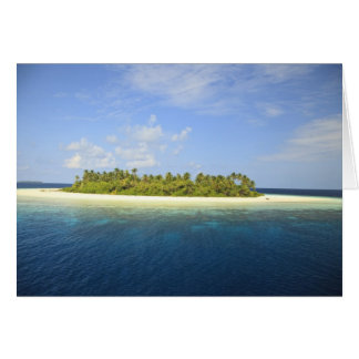 Baughagello Island, South Huvadhoo Atoll, 3 Card