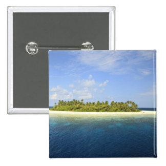 Baughagello Island, South Huvadhoo Atoll, 3 Pinback Button