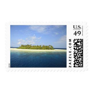 Baughagello Island, South Huvadhoo Atoll, 3 Postage Stamp