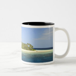 Baughagello Island, South Huvadhoo Atoll, 3 Two-Tone Coffee Mug