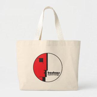 "BAUHAUS Classic Circle ""Lineface"" Profile Icon Large Tote Bag"