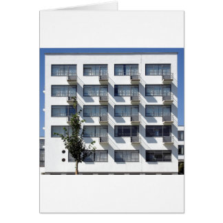 Bauhaus Dessau Germany Card