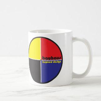 BAUHAUS Inspired Design Classic 4-color QUAD Mug