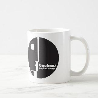 BAUHAUS Inspired Design Classic Circle ICON Mug