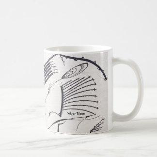 """Bauhaus One"" Designer Mug by Viktor Tilson"