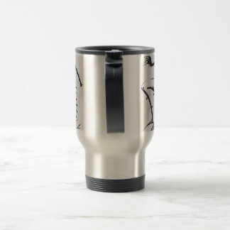 """""""Bauhaus One"""" Travel Mug by Viktor Tilson"""
