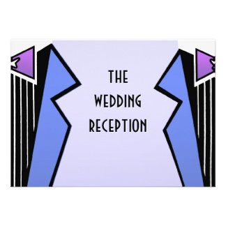 Bauhaus Tuxedo - LBV (Reception) Personalized Invitations
