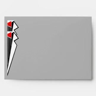 Bauhaus Tuxedo (Personalized 5x7) Envelope