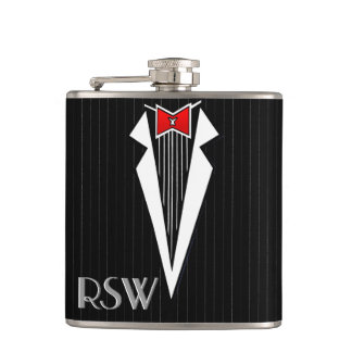 Bauhaus Tuxedo (Personalized Flask)