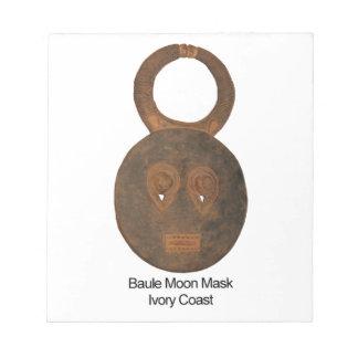 Baule Moon Mask Notepads