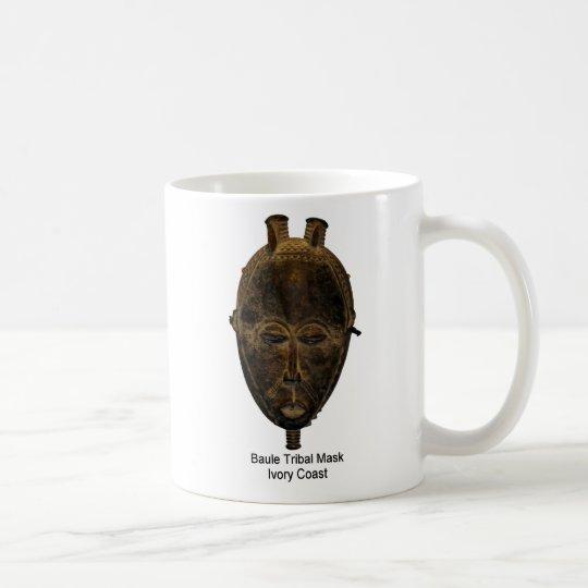 Baule Tribal Mask Mug