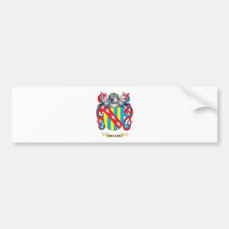Baulke Coat of Arms (Family Crest) Car Bumper Sticker