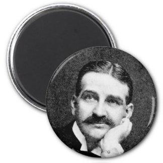 Baum ~ Frank Lyman Writer Wizard of Oz 2 Inch Round Magnet