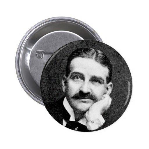 Baum ~ Frank Lyman Writer Wizard of Oz Buttons