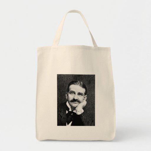 Baum ~ Frank Lyman Writer Wizard of Oz Tote Bags