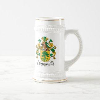 Baumann Family Crest Beer Stein