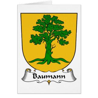 Baumann Family Crest Card
