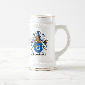 Baumbach Family Crest Beer Stein