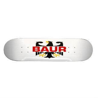 Baur Surname Skateboard Decks