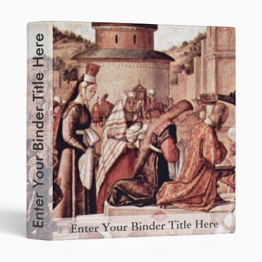 Bautismo de creyentes por San Jorge por Carpaccio