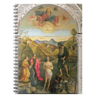 Bautismo de Cristo, Altarpiece de St. John Notebook