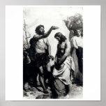 Bautismo de Cristo. circa 1879 Poster