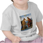 Bautismo de Cristo de Pedro Perugino Camisetas