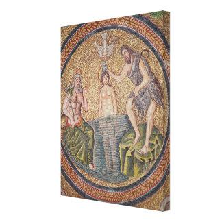 Bautismo de Cristo de San Juan Bautista Impresiones En Lona Estiradas