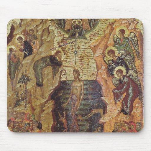 Bautismo de Cristo, de Sandzak Tapetes De Ratones