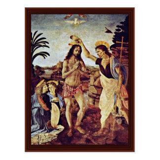 Bautismo de Cristo de Sarto Andrea Del Postal