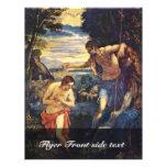 Bautismo de Cristo de Tintoretto Jacopo (el mejor  Flyer A Todo Color