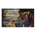 Bautismo de Cristo de Tintoretto Jacopo (el mejor  Tarjeta De Visita