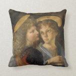 Bautismo de Cristo, detalle del ángel, Leonardo da Cojin