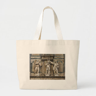 Bautismo de Cristo - estatua de Florencia Bolsa Tela Grande